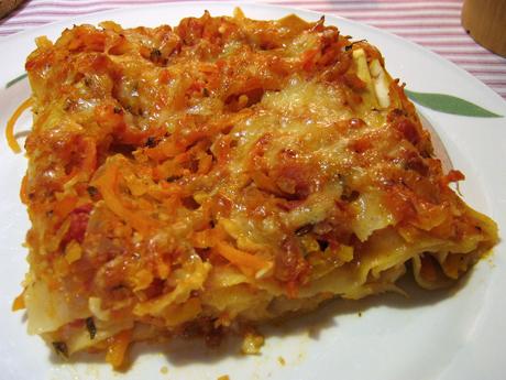 recept vegetarisk lasagne keso
